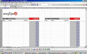 Excel buhalterija
